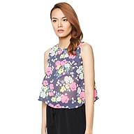 Áo Xòe Hoa Labelle S30 - Xanh thumbnail