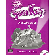 Superkids NE Activity Book 6 with CD thumbnail