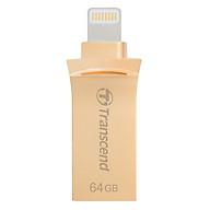 USB OTG Transcend TS64GJDG500G 64GB - USB 2.0 - Hàng Chính Hãng thumbnail