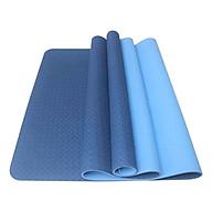 Thảm Tập Yoga TPE 2 Lớp Zera 8MM2L (8mm) - Xanh Dương thumbnail
