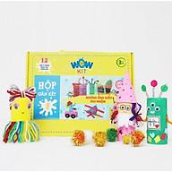 Hộp thủ công sáng tạo Wow Kit Chủ đề Những ống giấy vui nhộn, giúp bé rèn luyện sự khéo léo của bàn tay, sự tập trung cũng như nâng cao khả năng tư duy sáng tạo, trí tưởng tượng ở trẻ (phù hợp với trẻ từ 3 tuổi trở lên) thumbnail