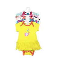 Set 5 Body Liền Váy Cho Bé Gái ( Body Váy ) Baby Wear ( Màu Ngẫu Nhiên ) thumbnail