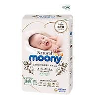Tã Dán Moony Natural Bông Organic Newborn 63 (63 Miếng) thumbnail