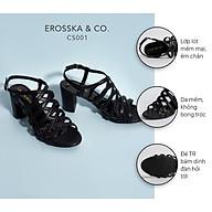 Gia y sandal chiến binh thời trang nữ Erosska gót cao 7cm CS001 thumbnail