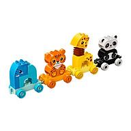 Đồ chơi LEGO DUPLO Chuyến Tàu Động Vật Đáng Yêu 10955 thumbnail