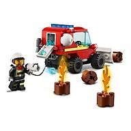 Đồ chơi LEGO City Xe Tải Chữa Cháy 60279 thumbnail