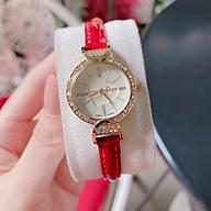 Đồng hồ nữ Julius Hàn Quốc JA-779B dây da ( Đỏ) thumbnail