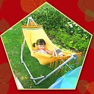 Võng xếp BAN MAI, võng cho trẻ em, nguyên bộ gồm khung võng và lưới võng thumbnail