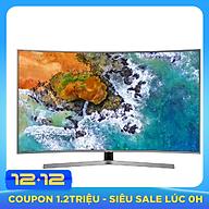 Smart Tivi Màn Hình Cong Samsung 65 inch UHD 4K UA65NU7500KXXV - Hàng Chính Hãng thumbnail