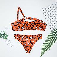 Bộ Đồ Bơi 2 Mảnh Nữ Thời Trang Vải Polyester thumbnail