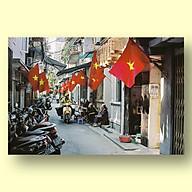 Tranh Canvas Trang Trí Treo Tường Hà Nội Phố - Công Nghệ In UV Nhật Bản - Màu Sắc Đẹp Rõ Nét thumbnail