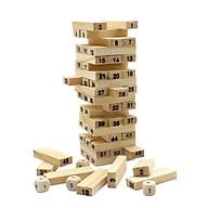 Bộ đồ chơi rút gỗ 54 miếng loại tốt thumbnail
