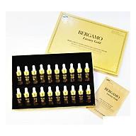 Set tinh chất hỗ trợ trị mụn - dưỡng trắng - tái tạo da Bergamo Luxury Gold Collagen And Caviar 13ml chai x 20 chai ( HÀNG CHÍNH HÃNG ) thumbnail