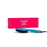 Lược Điện Tạo Kiểu Tóc PYT Thermal Styling Brush Turquoise - Màu Xanh - Có Thể Duỗi Và Làm Phồng Chân Tóc Với Công Nghệ Ion Âm thumbnail