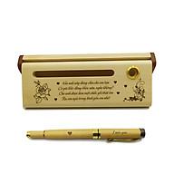 Bộ bút gỗ cao cấp tặng bạn gái - mẫu 01 (Kèm hộp đựng sang trọng) thumbnail