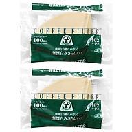 Combo 2 Giấy Thấm Lọc Coffee Filter TENTOK GTL000770028 (100 miếng) thumbnail