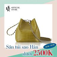 Túi đeo chéo Find Kapoor Mino Pingo Bag 16 Basic Pearl FCFBPDX204OV - màu olive thumbnail