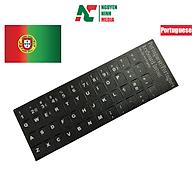Miếng Dán Bàn Phím Tiếng Bồ Đào Nha, Angola - Portugal Keyboard Sticker thumbnail
