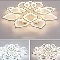 Đèn mâm Led ốp trần hoa sen 15 tay HK_9025 thumbnail