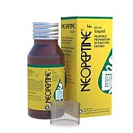 Thực phẩm bảo vệ sức khỏe Neopeptine F Liquid (Neopeptine siro) chai 60ml - Hỗ Trợ Tăng Cường Tiêu Hóa Và Hấp Thu Thức Ăn thumbnail