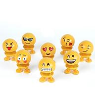 Thú nhún emoji lò xo ô tô biểu cảm 8 gương mặt (ngẫu nhiên) thumbnail
