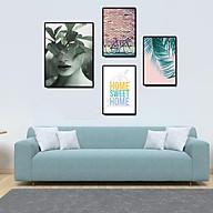 Tranh treo tường, tranh canvas TB05 bộ 4 tấm thumbnail