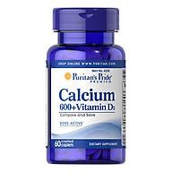 Thực Phẩm Chức Năng - Canxi Mỹ Kết Hợp Vitamin D3 Tốt Cho Bà Bầu, Giúp Tăng Chiều Cao, Cho Xương Chắc Khỏe 4230 thumbnail