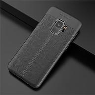 Ốp lưng silicon dẻo giả da Auto Focus cao cấp dành cho Samsung S9 - Hàng Chính Hãng thumbnail