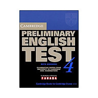 Cambridge Preliminary English Test 4 Student s Book with Answers thumbnail