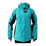 Áo khoác gió nữ 2 lớp Gothiar 2L jacket - Xanh Ngọc 9108 thumbnail