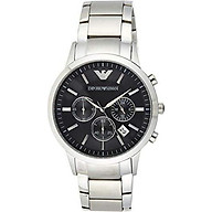 Emporio Armani Men s AR2434 Dress Silver Watch thumbnail