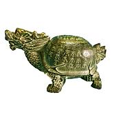 Tượng Rùa đầu rồng - Long quy cao 6cm - Linh vật phong thuỷ bằng đồng thau thumbnail