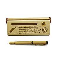 Bút gỗ cao cấp làm quà tặng ngày 20 11 (Kèm hộp đựng sang trọng) thumbnail