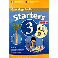 Cambridge Young Learner English Test Starters 3 Student Book thumbnail