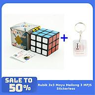 Combo Rubik 3x3 ShengShou Legend Khối Lập Phương Rubic 3 Tầng kèm Móc khóa TTH thumbnail