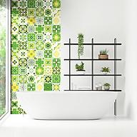 Decal gạch bông dán bếp dán tường trang trí không gian nhà cửa - mã HV38 thumbnail