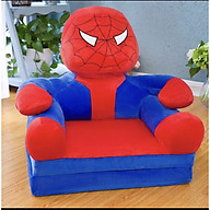 Ghế Lười Bông Cho Bé Hình Người Nhện thumbnail
