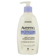 Aveeno Active Naturals Stress Relief Moisturising Lotion Lavender, Chamomile and Ylang-Ylang Essences 354mL thumbnail