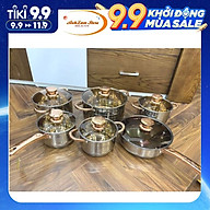 Bộ Nồi ANGELBERG Đức 6 Món - Bộ Nồi Chef 6 Món INox Cao Cấp Dùng Cho Mọi Loại Bếp - Anhlam Store thumbnail
