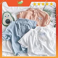 Áo Sơ Mi Đũi Cho Bé Trai Và Bé Gái Từ 8kg Đến 28kg Chất Liệu Cotton 100% Thoáng Mát DOLY STORE thumbnail