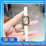 Đồng Hồ Nữ Julius Hàn Quốc Dây Da JA-544 trắng thumbnail