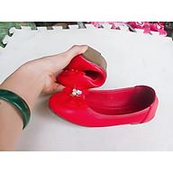 giày búp bê trẻ em hoa đá thumbnail