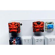 Keycap Shishi clone tone đỏ đen trang trí bàn phím cơ. thumbnail