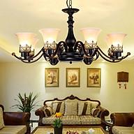 Đèn chùm LX500 hiện đại phong cách cổ điển Bắc Âu thumbnail