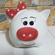 Lợn Nơ - Mũ tiết kiệm - GỐM SỨ CAO CẤP ( size 2 và size 3 ) thumbnail