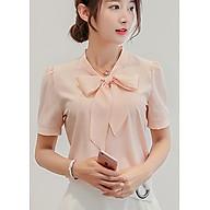 Áo Sơ Mi Nữ Thắt Nơ Ohazo Mẫu Công Sở Hàn Quốc - AG06 thumbnail