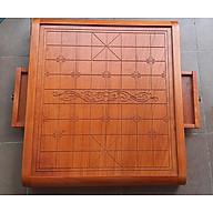 Bàn cờ tướng gỗ -có ngăn kéo đựng quân cờ 4,0 cm thumbnail