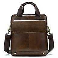 Túi đeo chéo nam da bò 100% cao cấp đựng ipad 30.5x26x6cm mã 8579KF thumbnail
