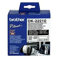 Giấy In Nhãn Liên Tục Brother DK-22210 (29mm x 30m) - Hàng chính hãng thumbnail