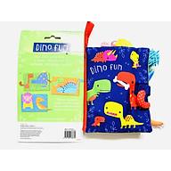 Dino Fun Cloth Book - Sách Vải Chủ Đề Về Khủng Long Vui Vẻ thumbnail